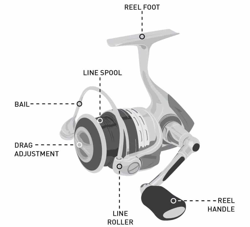 spinning reel parts